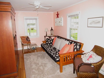 Dennis Cape Cod vacation rental - Bedroom 3 off dining room with double futon
