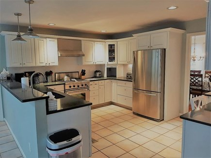 Marstons Mills Marstons Mills vacation rental - Tiled Kitchen with stainless steel appliances