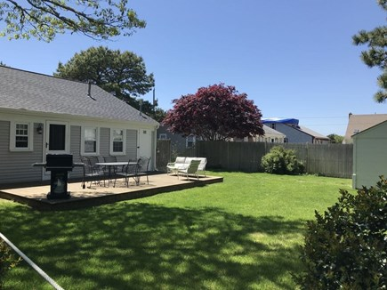 West Yarmouth Cape Cod vacation rental - Backyard for grilling