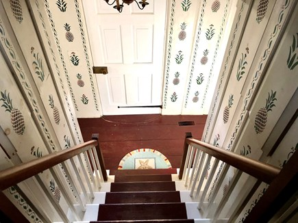 Wellfleet Cape Cod vacation rental - Antique houses have steep stairs - hold the railings.
