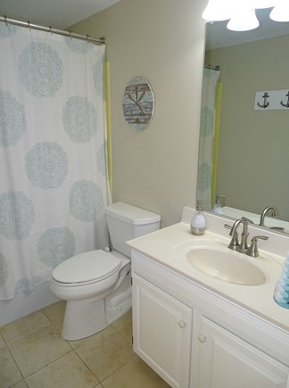 East Dennis Cape Cod vacation rental - Second bathroom with tub, shower