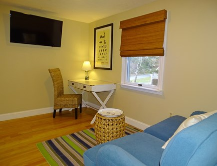 East Dennis Cape Cod vacation rental - Extra room with flat screen TV and couch