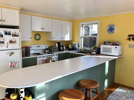 Truro Cape Cod vacation rental - Kitchen space