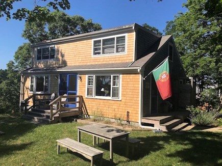Truro Cape Cod vacation rental - Plenty of yard space to run around in