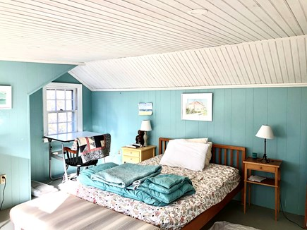Truro Cape Cod vacation rental - Second upstairs bedroom with double size bed