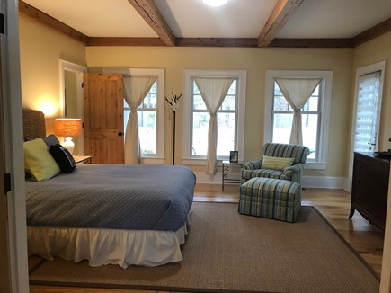 North Eastham/Bay Side Cape Cod vacation rental - Queen bedroom 1st flr, full bath across the hallway