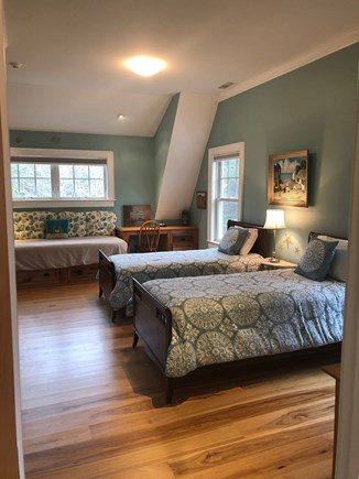 North Eastham/Bay Side Cape Cod vacation rental - 2nd floor en suite, triple twin bedroom