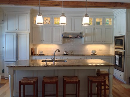 North Eastham/Bay Side Cape Cod vacation rental - Top of the line spacious kitchen
