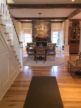 North Eastham/Bay Side Cape Cod vacation rental - Entry to dining & sitting area