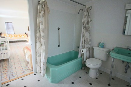Dennis Cape Cod vacation rental - One of the 2 full baths upstairs