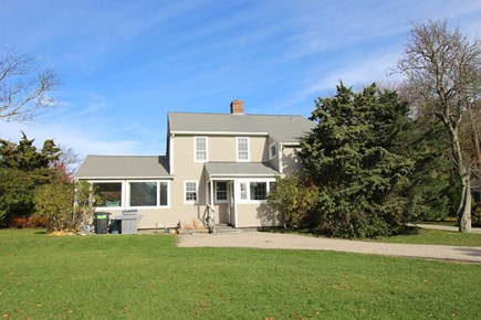 Dennis Cape Cod vacation rental - Rear View w/Yard