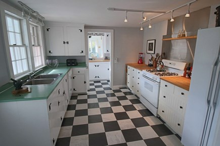 Dennis Cape Cod vacation rental - Partial view of kitchen (Butler Pantry beyond)