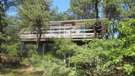 Wellfleet Cape Cod vacation rental - Private wooded