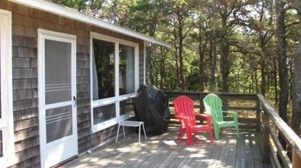 Wellfleet Cape Cod vacation rental - Great deck for relaxing