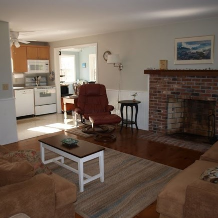 North Eastham Cape Cod vacation rental - Living/Kitchen