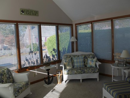 Dennis Port Cape Cod vacation rental - Pretty Sunroom for relaxing