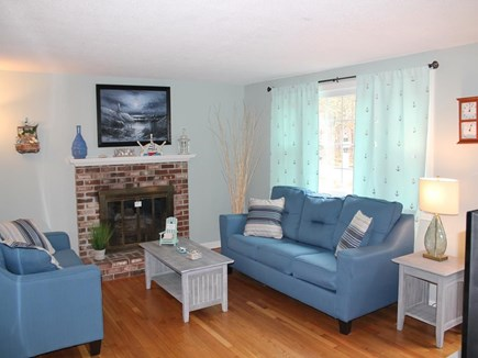 East Harwich Cape Cod vacation rental - Cozy Living Room