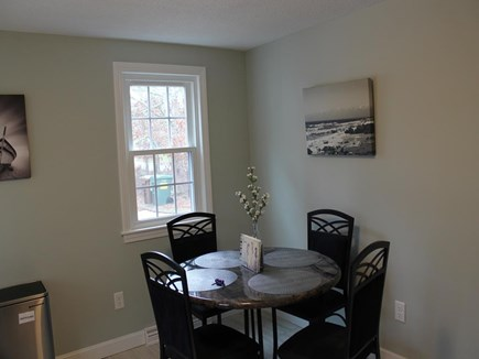 East Harwich Cape Cod vacation rental - Dining Table