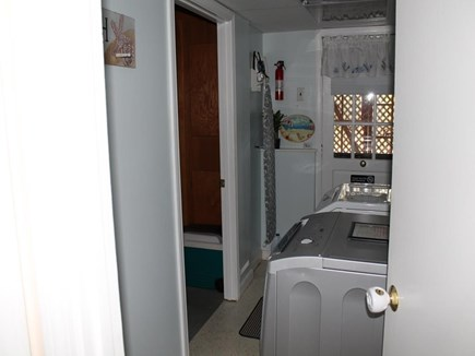 Harwich Cape Cod vacation rental - Laundry Area