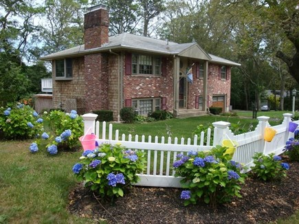 Harwich Cape Cod vacation rental - Side View with Yard