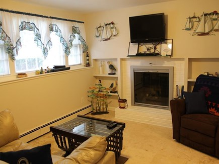 Harwich Cape Cod vacation rental - Lower Level Living Area