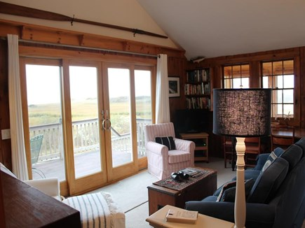 Harwich Cape Cod vacation rental - Living Room overlooking the marsh
