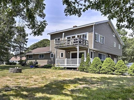 East Falmouth Cape Cod vacation rental - 2-Family House with multiple decks facing Menauhant Beach