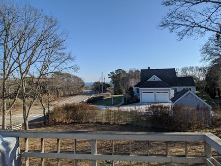 East Falmouth Cape Cod vacation rental - Upper Patio with beautiful views