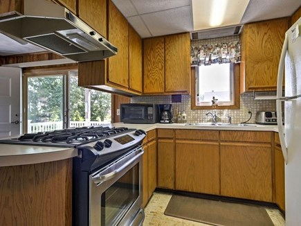 East Falmouth Cape Cod vacation rental - Downstairs kitchen