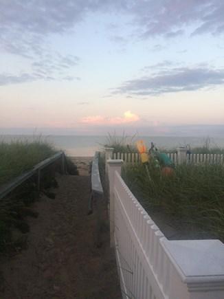 Sandwich, Sagamore Beach Cape Cod vacation rental - The path to the beautiful Sagamore Beach