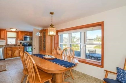 Sandwich, Sagamore Beach Cape Cod vacation rental - Dining area of bright eat-in kitchen
