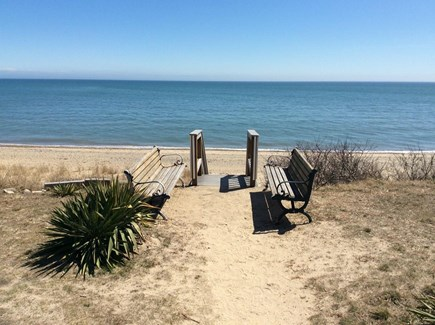 Mashpee, Popponesset Beach Cape Cod vacation rental - Beautiful Rock Landing Beach is just steps away!