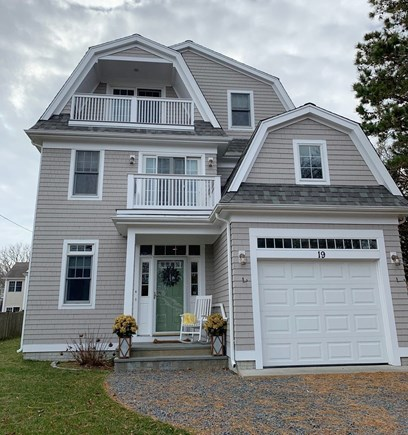 Mashpee, Popponesset Beach Cape Cod vacation rental - Welcome to paradise! Front of house
