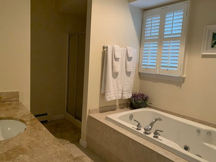 Mashpee, Popponesset Beach Cape Cod vacation rental - Master bath with jacuzzi
