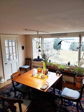 Orleans Cape Cod vacation rental - Dining room with seating for six+ and a large picture window