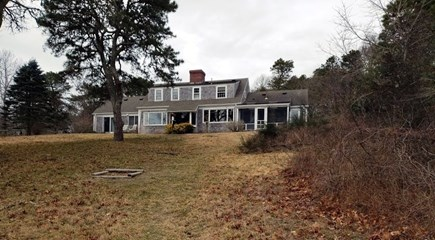 Orleans Cape Cod vacation rental - View of the rear of the house from the water