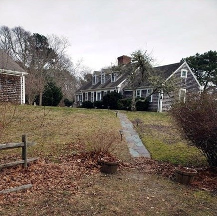 Orleans Cape Cod vacation rental - View of the front of the property from the driveway area