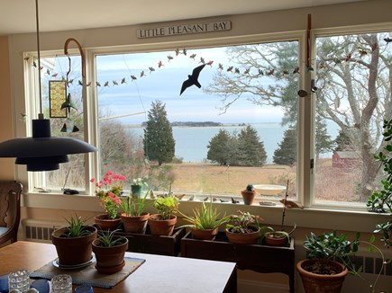 Orleans Cape Cod vacation rental - Dining room with view to the Bay