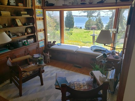 Orleans Cape Cod vacation rental - Cozy den/study with water views