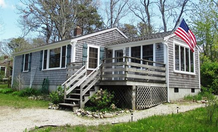 Brewster Cape Cod vacation rental - Front of the cottage