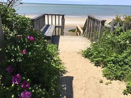 Brewster Cape Cod vacation rental - Walk just 2/10 mile to this private beach on the Bay