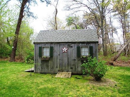 Brewster Cape Cod vacation rental - Shed