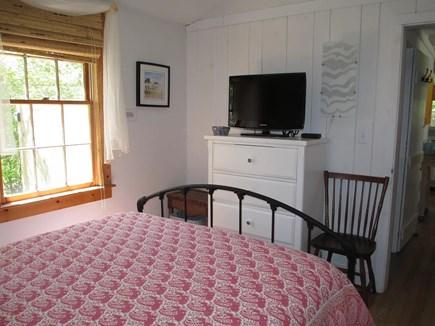 Brewster Cape Cod vacation rental - TV in queen bedroom