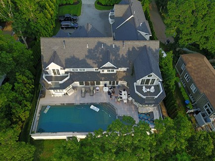 East Falmouth Cape Cod vacation rental - View from above