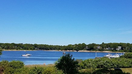 East Falmouth Cape Cod vacation rental - View from deck