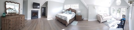 East Falmouth Cape Cod vacation rental - 2nd Floor Master, King with Sitting Area & Balcony