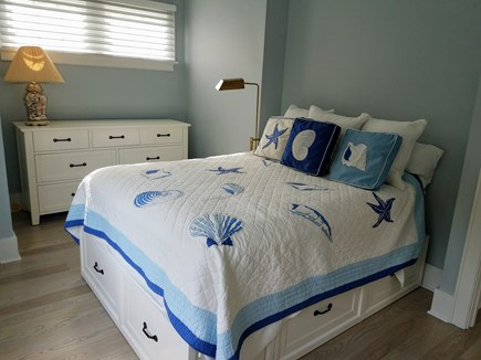 East Falmouth Cape Cod vacation rental - 2nd Floor Bedroom with Sitting Area and Balcony
