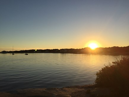 Falmouth Cape Cod vacation rental - Watch and enjoy the sunset at Surf Drive Beach.
