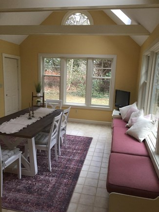 Falmouth Cape Cod vacation rental - Enjoy the bright three season room.