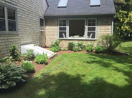 Falmouth Cape Cod vacation rental - Enjoy our spacious garden.